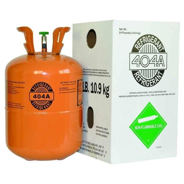 REFRIGERANT 404A 24 lb. 10.9 kg, item number: R-404A-24