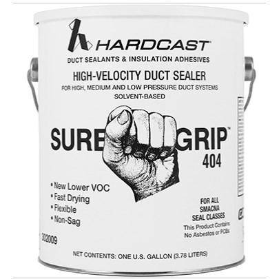 SEALANT DUCT 1 gal SOLVENT BASED SURE GRIP HARDCAST (4)