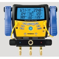 DIGITAL MANIFOLD WITH CLAMPS FIELDPIECE, item number: SMAN360