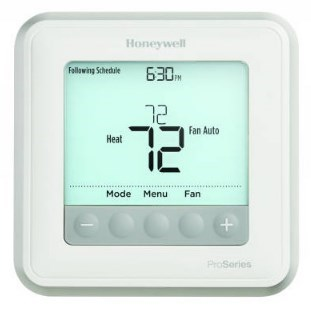 TSTAT T6 PRO 2 HEAT 1 COOL HONEYWELL (12), item number: TH6210U2001
