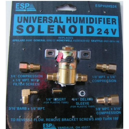 SOLENOID HUMIDIFIER UNIVERSAL 24v ESP (12)