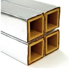 PLENUM FIBERGLASS 9-1/2inx9-1/2inx4ft, item number: UPC-12-095S