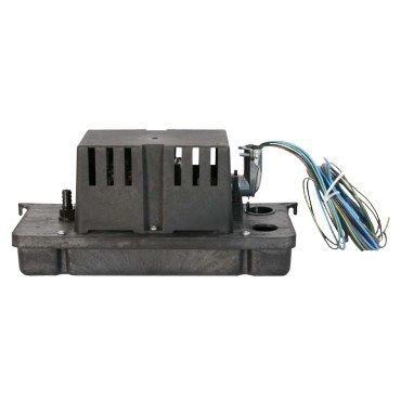 PUMP CONDENSATE PLENUM RATED LOW PROFILE 115v LITTLE GIANT, item number: VCC-20-P