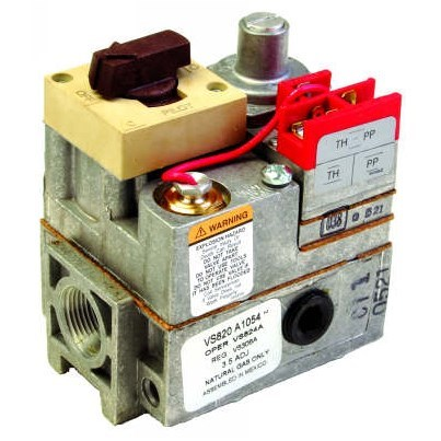 GAS VALVE UNIVERSAL STANDARD OPEN MILLIVOLT HONEYWELL, item number: VS820M1309