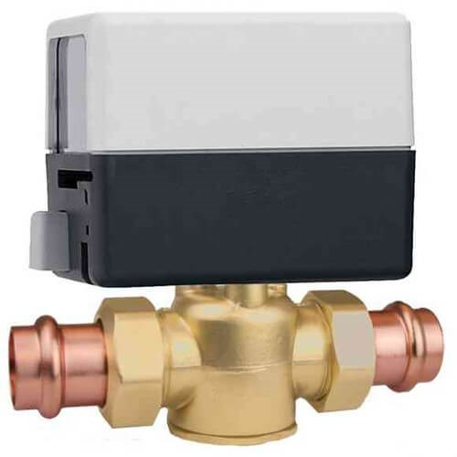 ZONE VALVE 3/4in PxP WITH WIRE LEAD CALEFFI, item number: Z45P